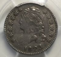 1823/2 CAPPED BUST DIME JR-2 R4  PCGS EXTRA FINE
