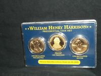 2009 PRESIDENTIAL GOLD DOLLAR COIN SET WILLIAM HENRY HARRISON S PROOF D P