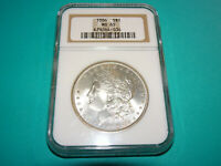 1886 P MORGAN DOLLAR - NGC MINT STATE 65 US4B