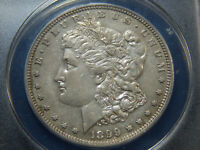 1899 $1 PROOF MORGAN DOLLAR PR-50 ANACS, COOL CIRCULATED PROOF