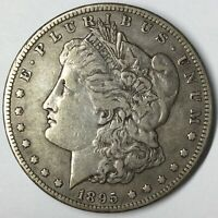 1895-S $1 MORGAN SILVER DOLLAR VF/EXTRA FINE  UNCERTIFIED