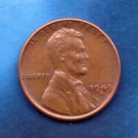 1949 S PENNY CIRCULATED TOTAL PRODUCED: 64,290,000 49S1019