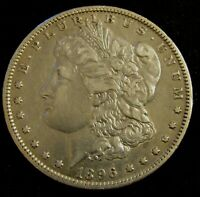1896-O NEW ORLEANS MINT $1 MORGAN SILVER DOLLAR AN12