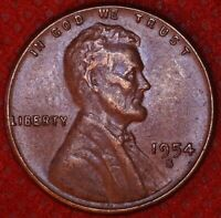 1954-S LINCOLN WHEAT CENT PENNY 1C SAN FRANCISCO MINT 415