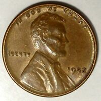 1952-D 1C LINCOLN WHEAT CENT UNC RED 17RR2212-1 70 CENTS SHIPPING