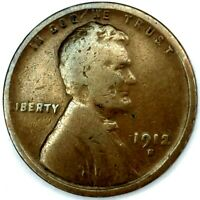 1912-S 1C LINCOLN WHEAT CENT KEY DATE 20LOCT0614 70 CENTS SHIPPING