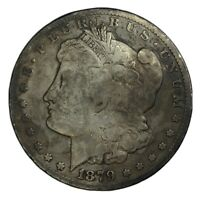 1879-CC $1 MORGAN SILVER DOLLAR VG
