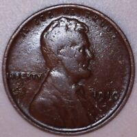 1910-P LINCOLN WHEAT CENT PENNY 1C  809