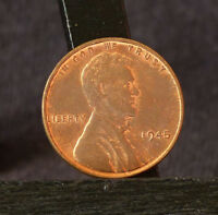 1945 PHILADELPHIA MINT LINCOLN CENT WHEAT CENT