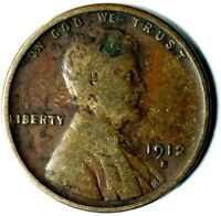 1912-S 1C LINCOLN WHEAT CENT 20LULC0204 70 CENTS SHIPPING
