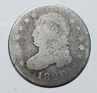 1820 CAPPED BUST DIME  STATESOF   VARIETY