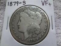 1879-S MORGAN SILVER DOLLAR $1 US MINT COIN 90 SILVER BULLION INVEST