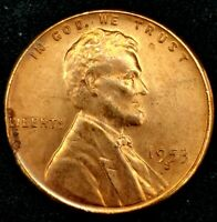 1953-S 1C LINCOLN WHEAT CENT BU 20OH1226 70 CENTS SHIPPING