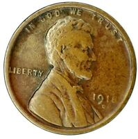 1918-D 1C LINCOLN WHEAT CENT 20LOS0124 70 CENTS SHIPPING