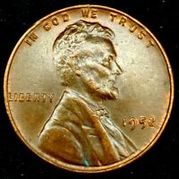 1952-P 1C LINCOLN WHEAT CENT UNC R/B 17SR2811 70 CENTS SHIPPING