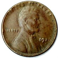 1926-D 1C LINCOLN WHEAT CENT 20LOS0124 70 CENTS SHIPPING