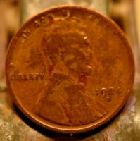 1924-S LINCOLN WHEAT CENT 1C.  5439
