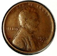 1929-D 1C LINCOLN WHEAT CENT 19RR0104 70 CENTS SHIPPING