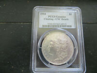 1904-P MORGAN SILVER DOLLAR CHOICE EXTRA FINE /AU DETAILS CLEANED