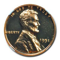 1951 WHEAT REVERSE LINCOLN CENT PROOF 1C NGC PR68RD