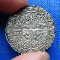 EDWARD IV SILVER GROAT MM ROSE EYE IN LEGEND HEAVY ISSUE 146