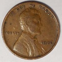 1926-P 1C LINCOLN WHEAT CENT 17SR0910-1 70 CENTS SHIPPING