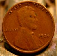 1924-S LINCOLN CENT 1C.   5572