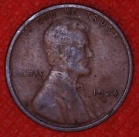 1924-S LINCOLN WHEAT CENT PENNY SAN FRANCISCO MINT 1CA110
