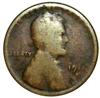 1911-D 1C LINCOLN WHEAT CENT 21LCT0113 70 CENTS SHIPPING