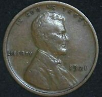 1921-P 1C LINCOLN WHEAT CENT 21LLC0113 70 CENTS SHIPPING