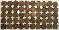 ROLL OF 50 GOOD 1919-S LINCOLN WHEAT CENTS. .E4