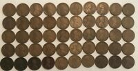 ROLL OF 50 AG-GOOD 1919-S LINCOLN WHEAT CENTS. E5