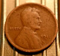 1911-D LINCOLN WHEAT CENT 1C.  5645