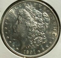 1891 S MORGAN DOLLAR $1 US MINT COIN  DATE SILVER COIN 1891-S L64