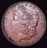 1878-S MORGAN SILVER DOLLAR SAN FRANCISCO MINT $1 A118