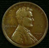 1919-S 1C LINCOLN WHEAT CENT 21LOS1118 70 CENTS SHIPPING