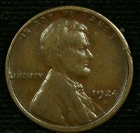 1924-S 1C LINCOLN WHEAT CENT 21LOS1118 70 CENTS SHIPPING
