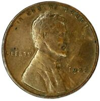 1932-P 1C LINCOLN WHEAT CENT 19UR1123 70 CENTS SHIPPING
