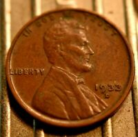 1933-D LINCOLN WHEAT CENT 1C.  5676