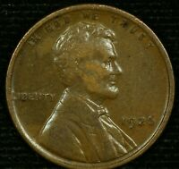 1926-P 1C LINCOLN WHEAT CENT EXTRA FINE  20LOS1223 70 CENTS SHIPPING