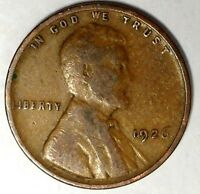 1926-P  1C LINCOLN WHEAT CENT 18AT0927 70 CENTS SHIPPING