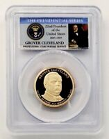2012 S GROVER CLEVELAND 22ND PRESIDENTIAL DOLLAR PCGS PR70 D