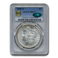 1898-O MORGAN DOLLAR MINT STATE 67 PCGS CAC - SKU197625