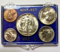 1945 S MINT SILVER SET U.S. COINS UNCIRCULATED