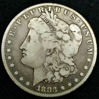 1883-P $1 MORGAN DOLLAR 90 SILVER 20OLWC1223