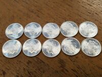 10 1882-S MORGAN SILVER DOLLARS..LOOKS GREAT  GRADE WITH PHOTO'S