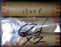 1960 & 2X 62D BU ROLL OBW LINCOLN CENT COIN 3 ROLL HOARD NIC