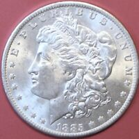 1885-O $1 MORGAN DOLLAR 90 SILVER VINTAGE US COIN. MS. MG2E.