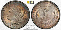 1878 CC MORGAN DOLLAR PCGS MINT STATE 64 SECURE SUPER ORIGINAL TONING FRESH TO MARKET