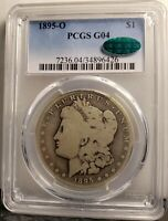 1895-O VAM 3A- WOW VAMS SET COIN - PCGS G04 LOWBALL KEY DATE AND CAC